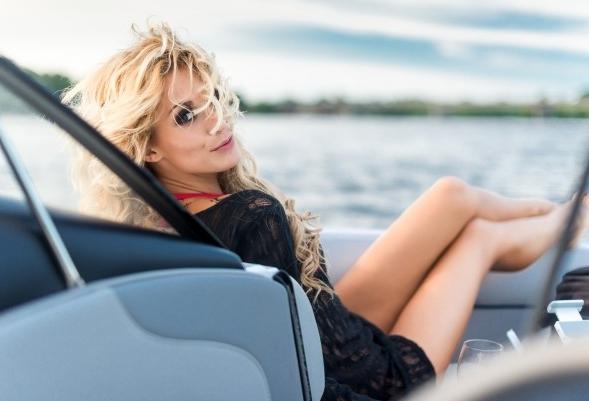 Элитная проститутка на яхте